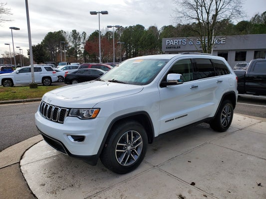 2018 Jeep Grand Cherokee >> 2018 Jeep Grand Cherokee Limited 4x4